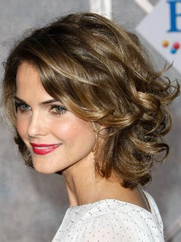 Best Short Curly Hairstyles For Round Faces Easy Women
