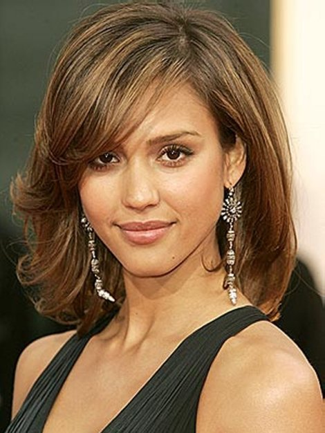 Medium Length Haircuts with Bangs