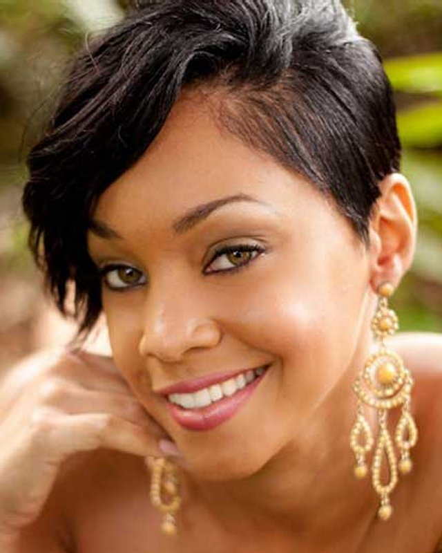 Hairstyles For Short Hair Cute Girl Hairstyles : Best Short Hairstyles for Black Women 2013 Easy Women Haircut Styles
